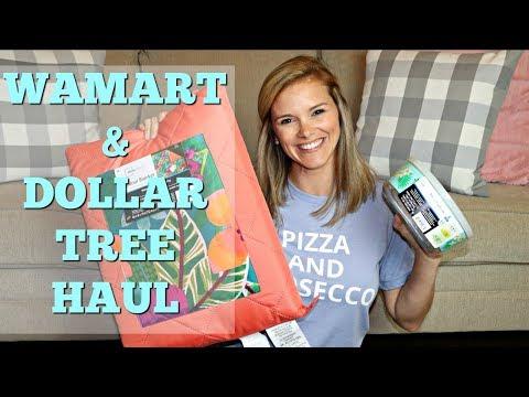 WALMART AND DOLLAR TREE HAUL // SHOP WITH ME // DOLLAR TREE SUMMER 2018