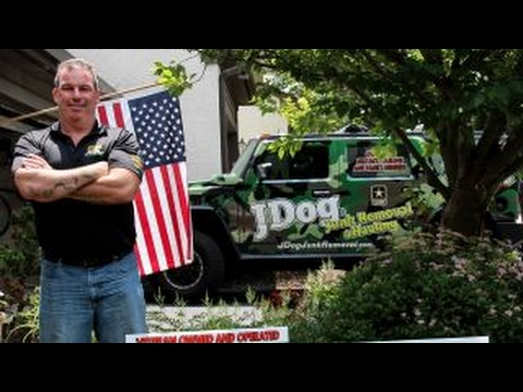 Military veteran turns trash into treasure