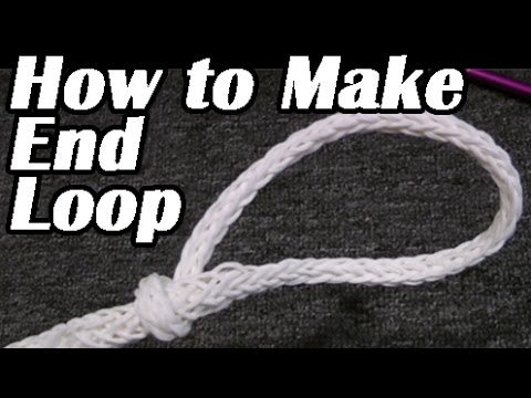 Ropes & Lines: HOW TO MAKE AN END LOOP for Water Skiing & Wakeboarding. Tips Tricks