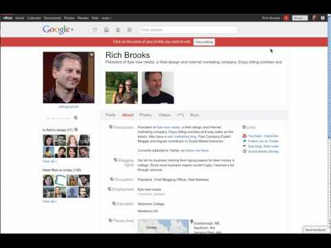 How to Set up Your Google+ Account    Google Plus How-Tos