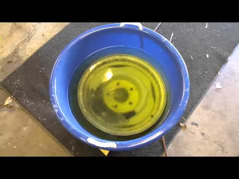 Oxalic Acid wheel rim rust removal