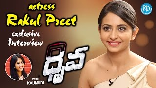 Rakul Preet Singh Exclusive Interview || #Dhruva || Talking Movies With iDream #258
