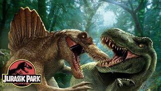 Five Deleted Dinosaur Fight Sequences | Jurassic Park Series