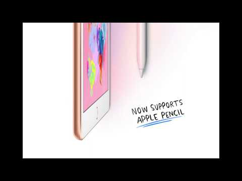 New 2018 9.7-inch iPad with Apple Pencil Support