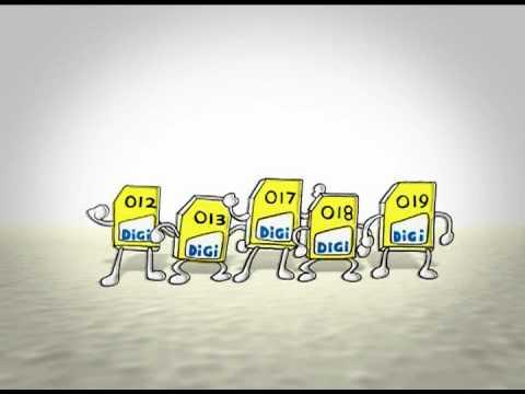 (TVC)DiGi MNP Switch SIM card