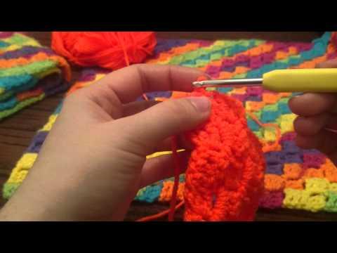 Decrease C2C Corner to Corner Blanket Crochet