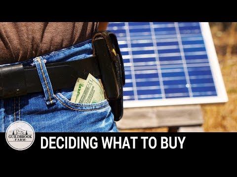 Investing Money Wisely Off Grid To Remain Debt Free