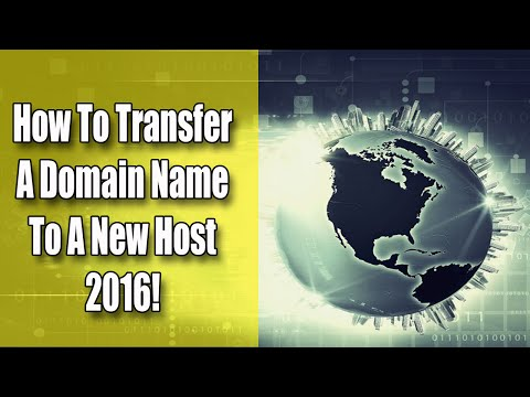 How to Transfer Domain Name to New Host [2016]