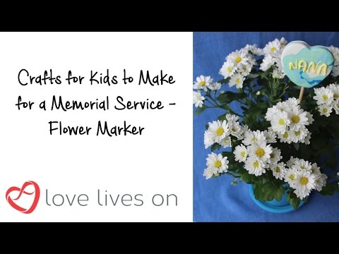 Memorial Craft: How to Make a Commemorative Plant Marker