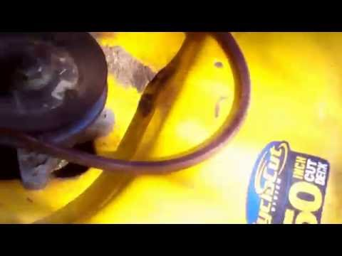 How to Replace the Deck Drive Belt on a Cub Cadet Mower