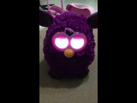 Furby going to sleep