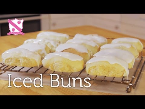 Easter Favorite - Paul Hollywood Iced Bun Recipe