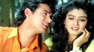 Elo ji Sanam Hum - Aamir Khan, Raveena Tandon, Andaz Apna Apna Song