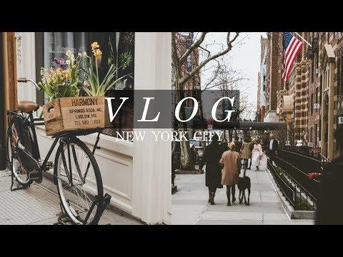 new york city vlog // the high line, chelsea market, washignton square park..
