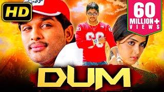 Dum (Happy) - Allu Arjun's Superhit Romantic Comedy Movie   Genelia D'Souza, Manoj Bajpayee
