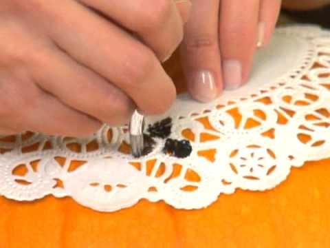 Easy Halloween Craft - No-Carve Pumpkin Stencils