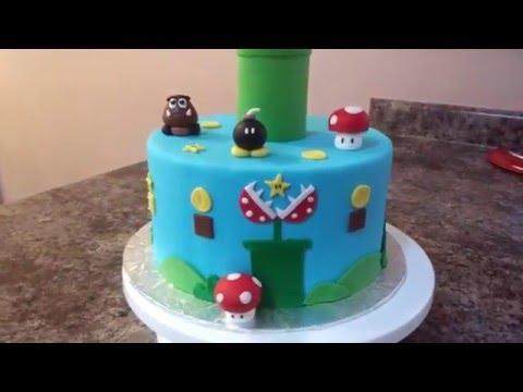 Super Mario Bros Cake Tutorial!