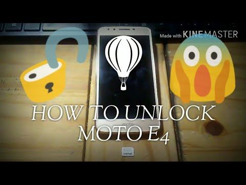 How To Unlock Motorola Moto E4  For All GSM Carriers & Networks 100℅