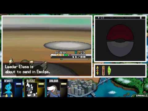 Pokémon White - Gym Leader Elesa