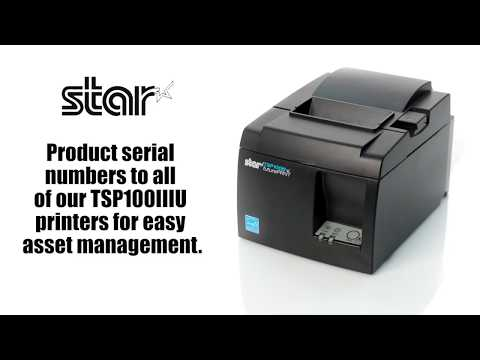 TSP100IIIU Thermal Printer - Faster, Easier, Better!