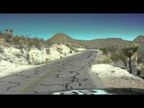 Driving Sitegreaves Pass Route 66