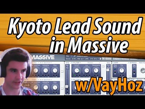 SD Tutorial 1: Skrillex Kyoto Lead Sound in Massive | FL Studio 12