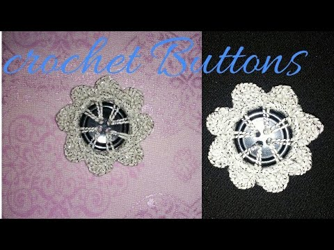Crochet Round Button Pattern in hindi ll indian crochet patterns