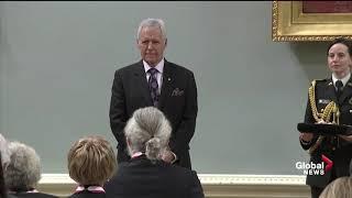 Jeopardy host Alex Trebek receives the Order of Canada
