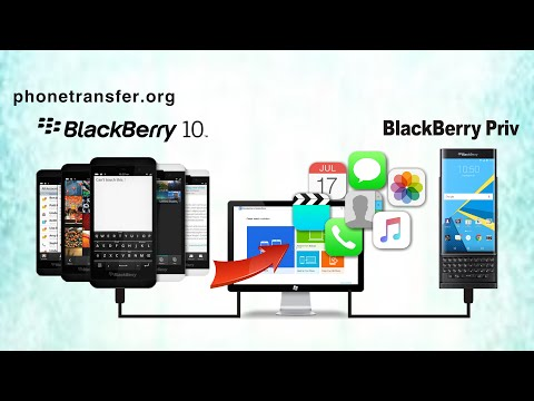 How to Sync All Contents from BlackBerry OS 10 backups to BlackBerry Priv by MobileTrans