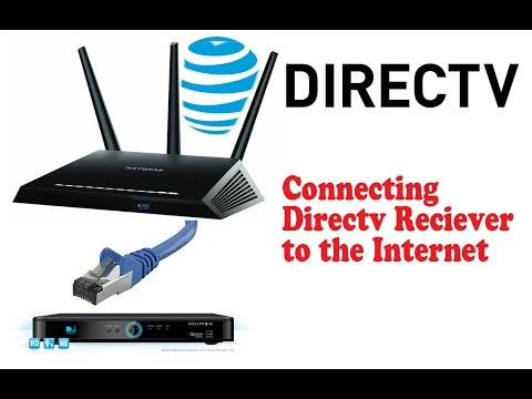 How to connect Directv to Internet.  Directv On Demand