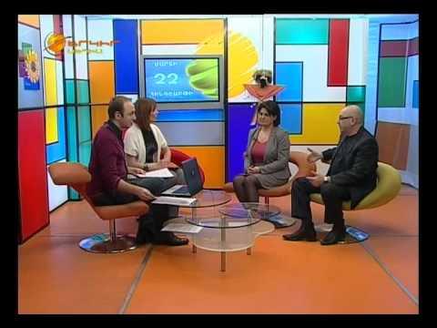 HS-STAR Karine Abelyan-Interview-Yerkir Media TV.avi