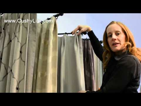 How We Create Euro Pleat Drapes
