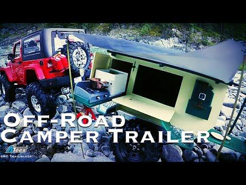 STYRENE SCALE CAMPER TRAILER - Custom Built By SATOR ROTAS!!!!