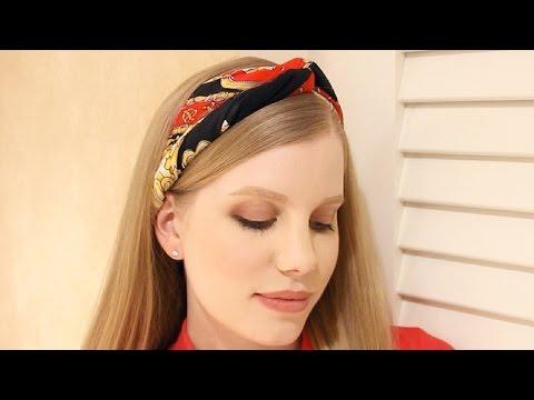 Scarf Headband Tutorial