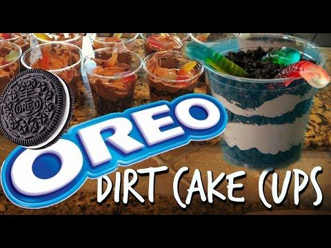 OREO DESSERT DIRT CAKE CUPS