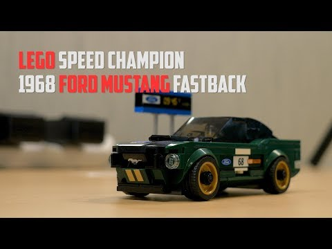 LEGO Speed Champion Build: 1968 Ford Mustang Fastback