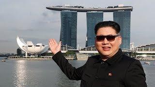 'Kim Jong Un': Trump, I'm here in Singapore!