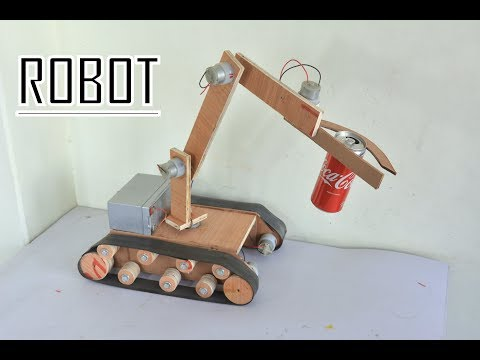 How to Make Robot / Remote controlled Robotic Arm at Home - Very Easy Way