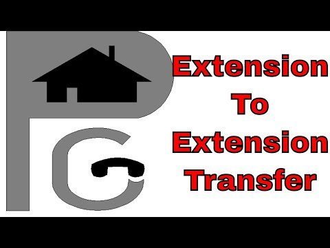 Transferring Calls - Extension to Extension