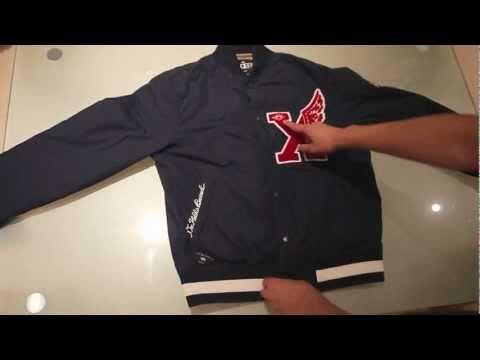10 Deep Victory Varsity Jacket  (Navy)
