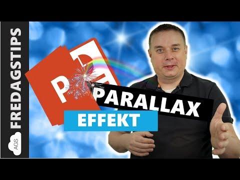 Hvordan lage Parallax effekt i PowerPoint