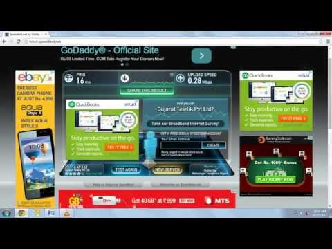 How To Check Internet Speed & Internet Strength?