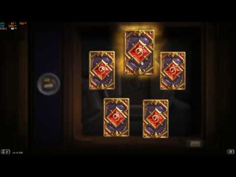 Guaranteed legendary card in every pack - [Hearthstone]
