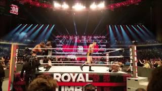 PART 2 OF WWE ROYAL RUMBLE! 2017 San Antonio TX