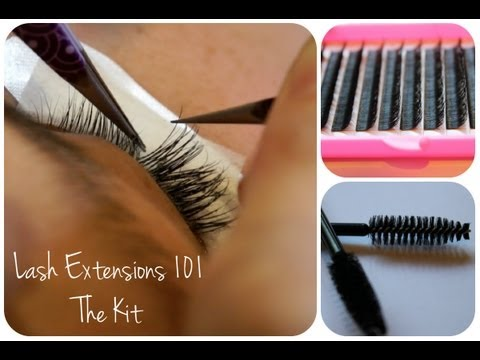Eyelash Extensions 101 - The Kit