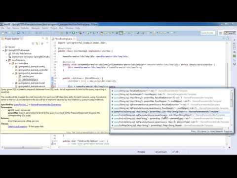 Spring 4 Restful Web Services CRUD JSON Example