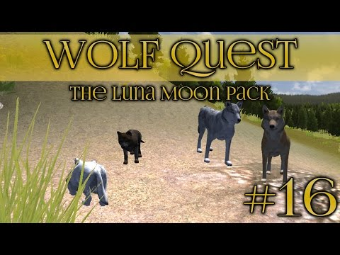 Wolf Quest 🐺 Slow Herd of Wolf Pups - Episode #16