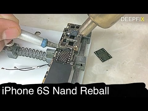 Bricked iPhone 6S fixed by Nand (4K)