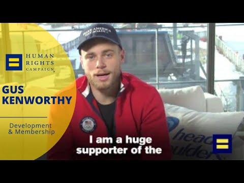 LGBTQ Olympian Gus Kenworthy Thanks HRC for Saving Lives