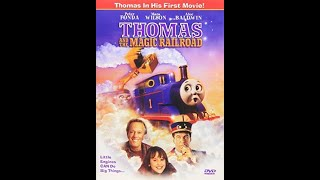 Opening to Thomas and the Magic Railroad 2000 DVD